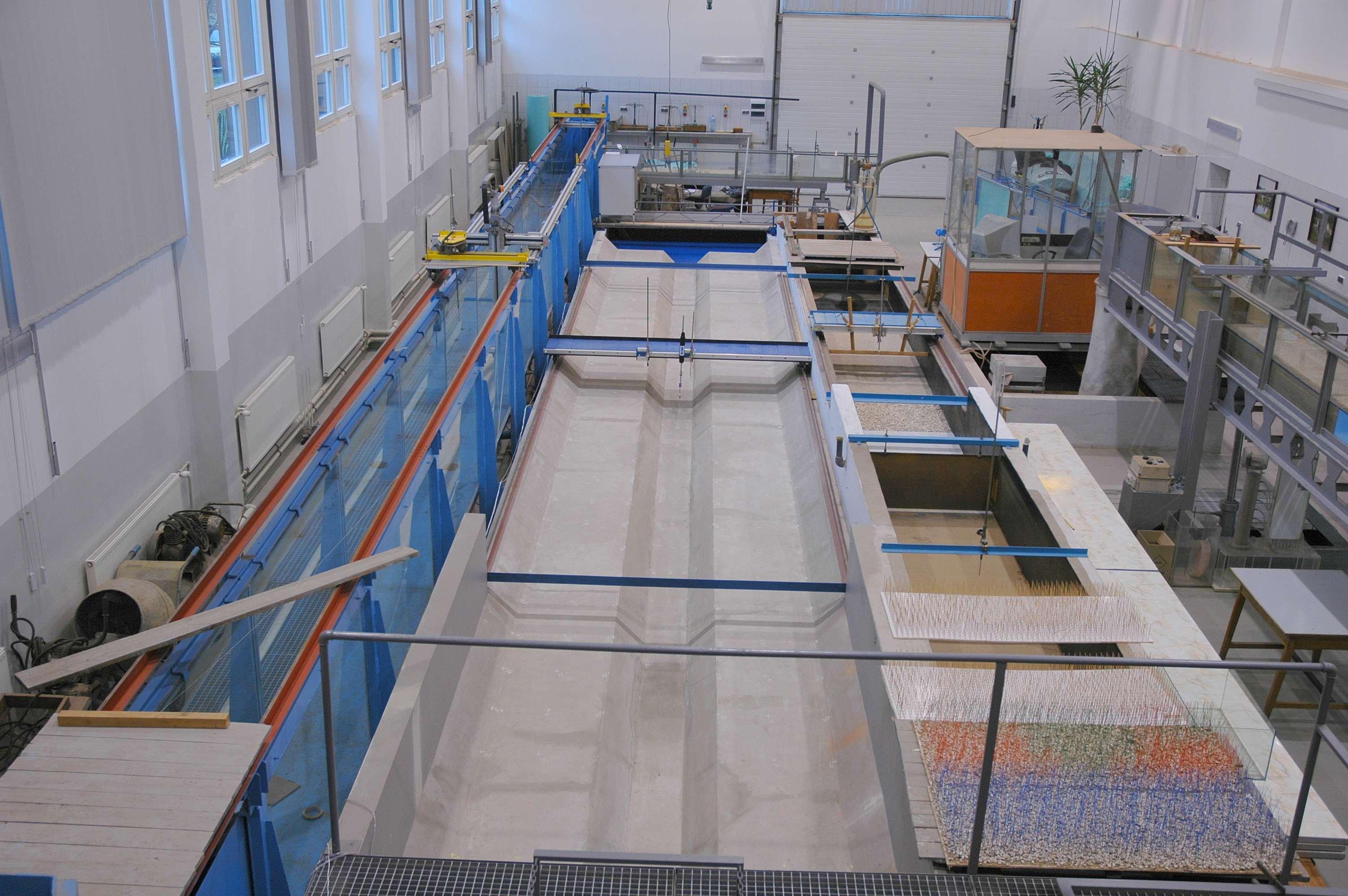 Laboratorium hydrauliczne SGGW
